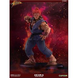 Street Fighter: Street Fighter Mixed Media Statue 1/4 Akuma Classic Exclusive 45 cm