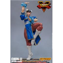 Street Fighter: Street Fighter V Action Figure 1/12 Chun-Li 17 cm