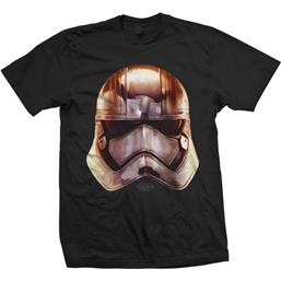 Star Wars: Captain Phasma Big Head T-Shirt
