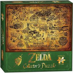 Hyrule Map Puzzle