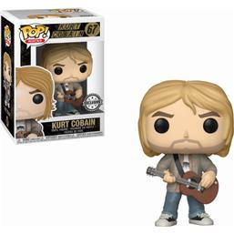 Nirvana: Kurt Cobain i Sweater POP! Vinyl Figur (#67)