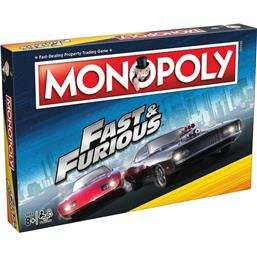 Fast & Furious: Fast & Furious Board Game Monopoly *English Version*