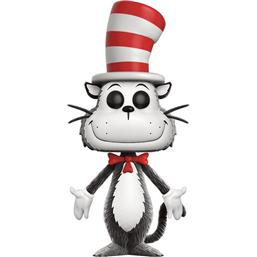 Cat In The Hat (Flocked) POP! Books Vinyl Figur (#04)