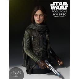 Star Wars: Star Wars Rogue One Bust 1/6 Jyn Erso (Seal Commander) 16 cm