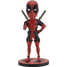 Deadpool: Marvel Comics Head Knocker Bobble-Head Deadpool Classic 20 cm