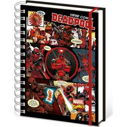 Deadpool: Deadpool A5 Notesbog