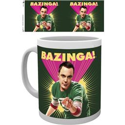 Big Bang Theory: Sheldon Cooper Bazinga Krus