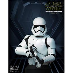 Star Wars: Star Wars Episode VII Bust 1/6 First Order Stormtrooper Deluxe MB 16 cm
