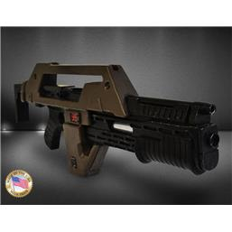 Alien: Aliens Replica 1/1 Pulse Rifle Brown Bess Weathered Ver. 68 cm