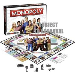 Big Bang Theory: The Big Bang Theory Board Game Monopoly *English Version*