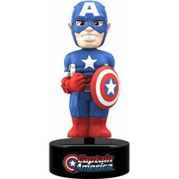 Captain America: Marvel Comics Body Knocker Bobble-Figure Captain America 15 cm