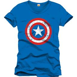 Captain America Shield T-Shirt Shield Blue