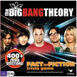 Big Bang Theory: The Big Bang Theory Board Game Trivia Fact or Fiction *English Version*