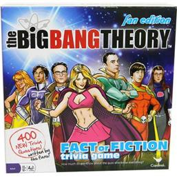 Big Bang Theory: The Big Bang Theory Board Game Trivia Fact or Fiction Fan Edition *English Version*