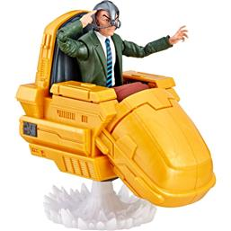 Marvel Legends Series Ultimate Action Figures 15 cm Professor X with Hover Chair