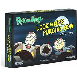 Rick and Morty: Rick and Morty Gryphon Card Game Look Who's Purging Now *English Version*