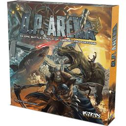 Diverse: O.P. Arena: An Epic Battle Royale of Absurd Proportions Board Game *English Version*