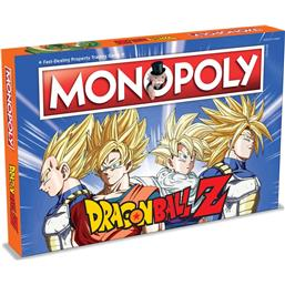 Dragonball: Dragonball Z Board Game Monopoly *English Version*