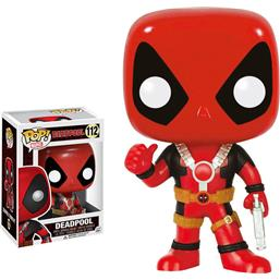 Deadpool POP! Bobble-Head Vinyl Figur Thumb Up (#112)