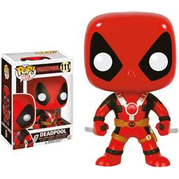 Deadpool POP! Bobble-Head Vinyl Figur Two Swords (#111)
