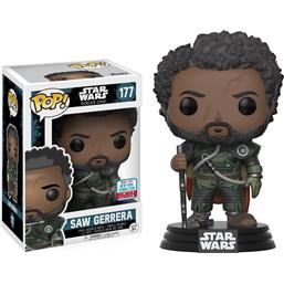 Saw Gerrera 2017 Fall Convention Exclusive POP! Vinyl Bobble-Head Figur (#177)