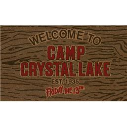 Welcome To Camp Crystal Lake Dørmåtte