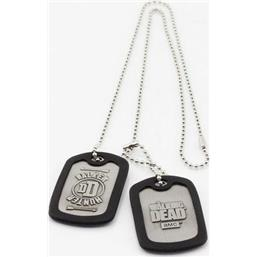 Walking Dead Dog Tags with ball chain Walker