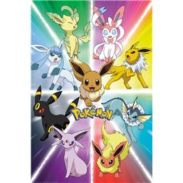 Eevee Evolution Plakat
