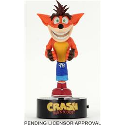 Crash Bandicoot Body Knocker Bobble-Figure Crash 16 cm