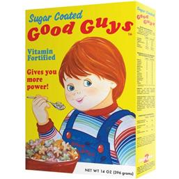 Child's Play 2 Replica 1/1 Good Guys Cereal Box