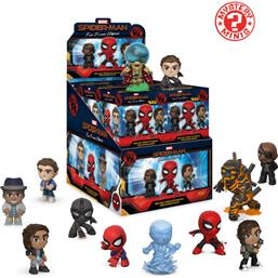 Spider-Man: Spider-Man: Far From Home Mystery Minis Vinyl Mini Figures 6 cm Display (12)