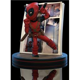Deadpool: Marvel Q-Fig Diorama Deadpool 4D 10 cm