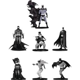 Batman Black & White PVC Minifigure 7-Pack Box Set #4 10 cm