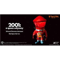 2001: A Space Odyssey: 2001: A Space Odyssey Artist Defo-Real Series Soft Vinyl Figure DF Astronaut Red Ver. 15 cm