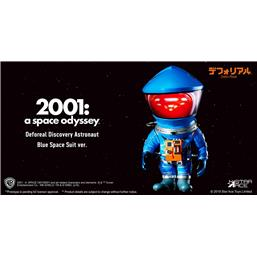 2001: A Space Odyssey: 2001: A Space Odyssey Artist Defo-Real Series Soft Vinyl Figure DF Astronaut Blue Ver. 15 cm