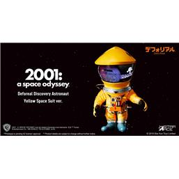 2001: A Space Odyssey: 2001: A Space Odyssey Artist Defo-Real Series Soft Vinyl Figure DF Astronaut Yellow Ver. 15 cm