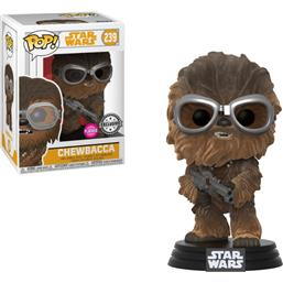 Star Wars: Chewie W/Goggles (Flocked) POP! Vinyl Bobble-Head (#239)