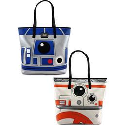 Star Wars: Star Wars by Loungefly Tote Bag R2-D2/BB-8