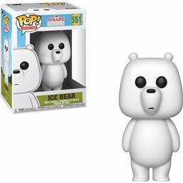 We Bare Bears: Ice Bear POP! Animation Vinyl Figur (#551)