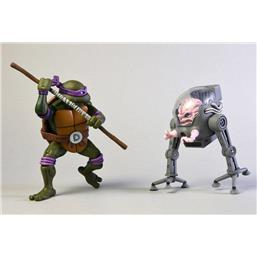 Teenage Mutant Ninja Turtles: Donatello vs Krang in Bubble Walker Action Figure 2-Pack 18 cm