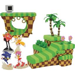 Sonic the Hedgehog Playset Dioramas 2-pack