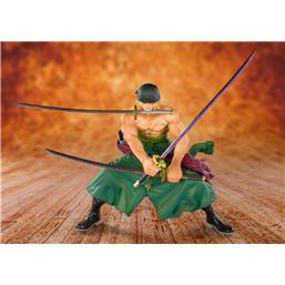 FiguartsZERO PVC Statue Pirate Hunter Zoro 11 cm