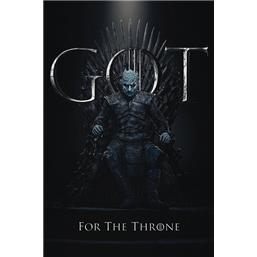 Night King for the Throne Plakat