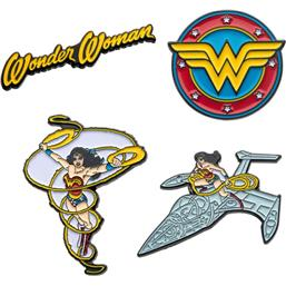 Wonder Woman Pins 4-Pak