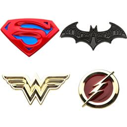 Justice League Pins 4-Pak