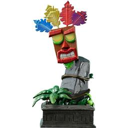 Crash Bandicoot: Crash Bandicoot Statue Mini Aku Aku Mask 40 cm