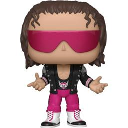 Bret Hart with Jacket POP! WWE Vinyl Figur