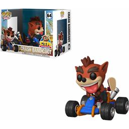 Crash Bandicoot: Crash Team Racing POP! Rides Vinyl Figur (#64)