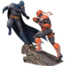 Batman vs. Deathstroke Battle Statue 30 cm