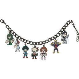 My Hero Academia Multi Character Charm Armbånd